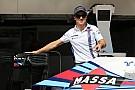 Martini change la livrée de la Williams pour honorer Massa