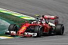 Räikkönen egy peches pénteken van túl Brazíliában!