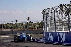 Formula E Reporte de la carrera Buemi luchó para ganar en Marruecos