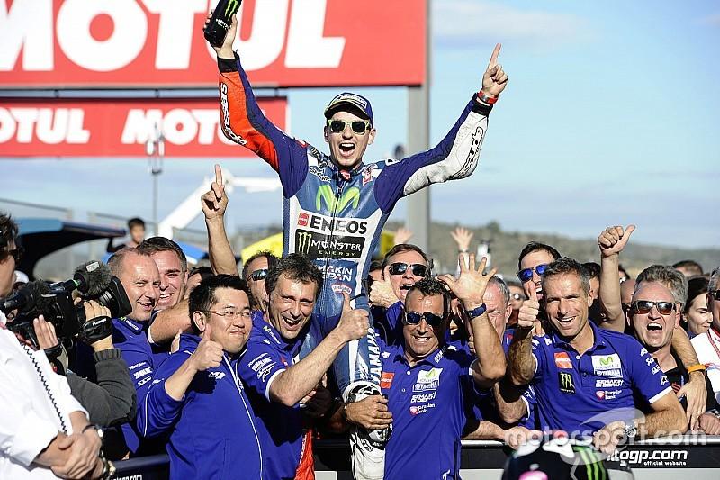 MotoGP Valencia: Kemenangan terakhir Lorenzo untuk Yamaha