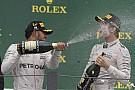 【F1ブラジルGP】ロズベルグ「ハミルトンは勝ちに値する。アブダビでは勝利を目指す」