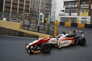 F3 Trainingsbericht Formel 3 in Macau: Titelverteidiger Felix Rosenqvist legt vor