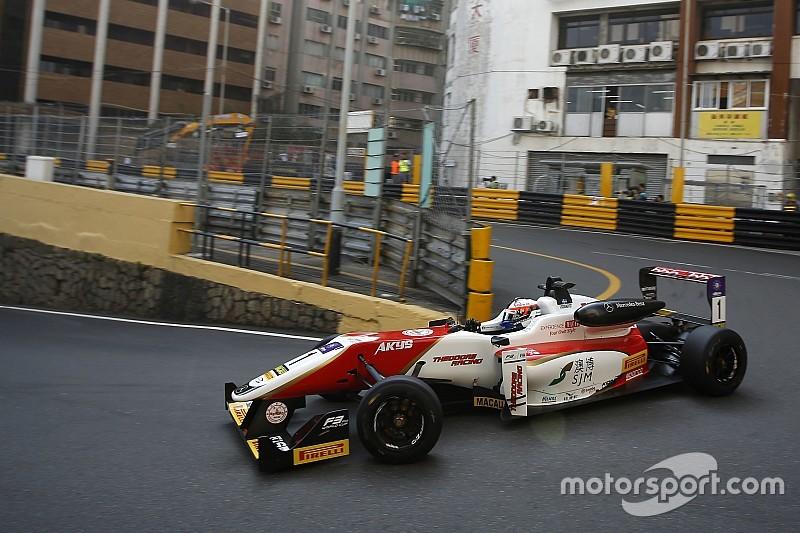 Formel 3 in Macau: Titelverteidiger Felix Rosenqvist legt vor