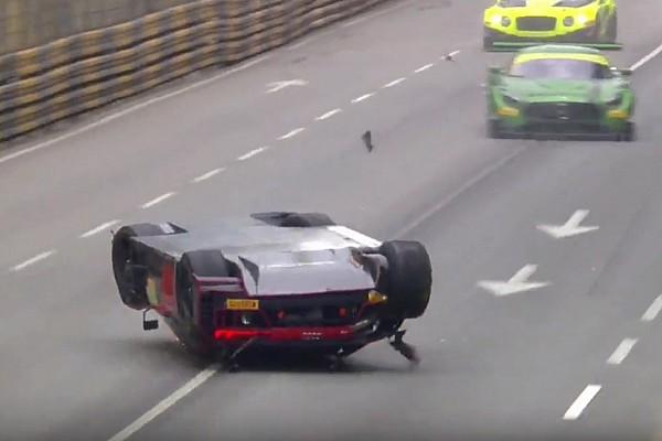 GT Vanthoor na crash: