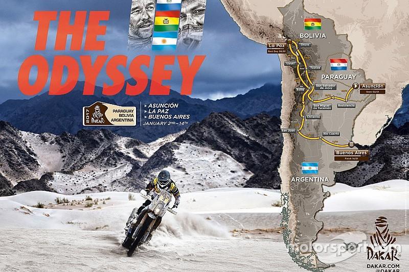 """Dakar Rally onthult details route 2017: """"Zwaarste editie in jaren"""""""