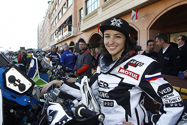 Suspenden por doping a motociclista rusa antes de su debut en el Dakar