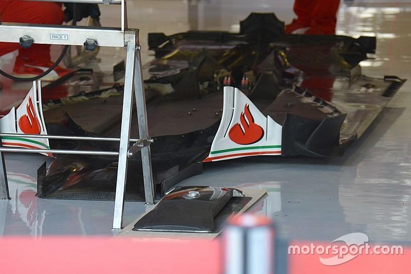 Технический брифинг: днище Ferrari SF16-H