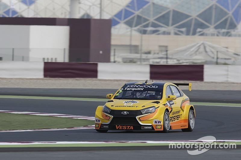 Тарквіні виграв першу гонку в Катарі