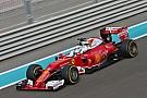 Vettel bovenaan in laatste oefensessie Abu Dhabi, Verstappen naar tweede tijd