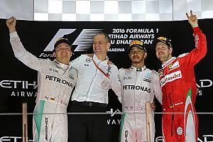 Formula 1 Yarış raporu Abu Dhabi GP: Hamilton kazandı, Rosberg şampiyon oldu!