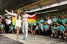 El pilotaje de Rosberg, digno de