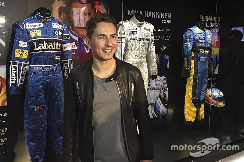 Jorge Lorenzo inaugure son musée dédié aux champions F1 et moto