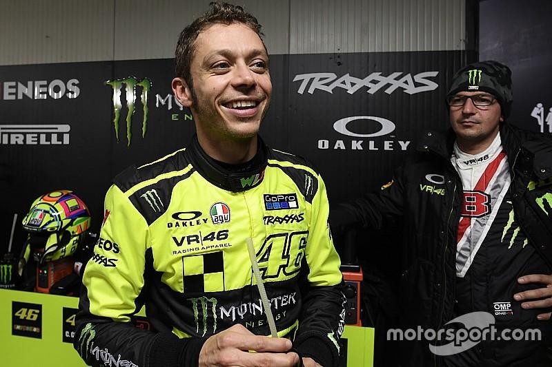 """Rossi: """"¿Un test con Mercedes? ¡Cómo podría decir que no!"""""""