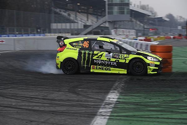 Other rally Reporte de la carrera Valentino Rossi se impone en el Monza Rally Show por delante de Sordo