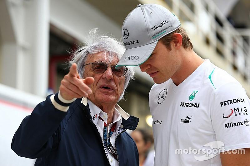 """Ecclestone: """"Rosberg is een wereldkampioen en niets meer dan dat"""""""