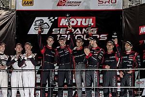 GT Asia Race report Sepang 12 Jam: Tampil dominan, Audi juara di kondisi hujan lebat