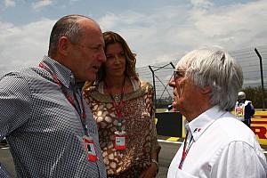 F1 Noticias de última hora Bernie Ecclestone aún lamenta salida de Ron Dennis de McLaren