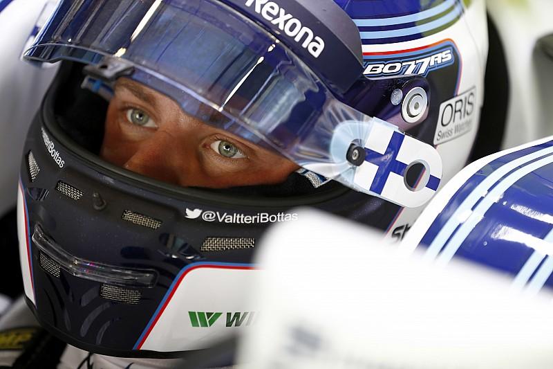 Bottas estuvo en la fábrica de Mercedes