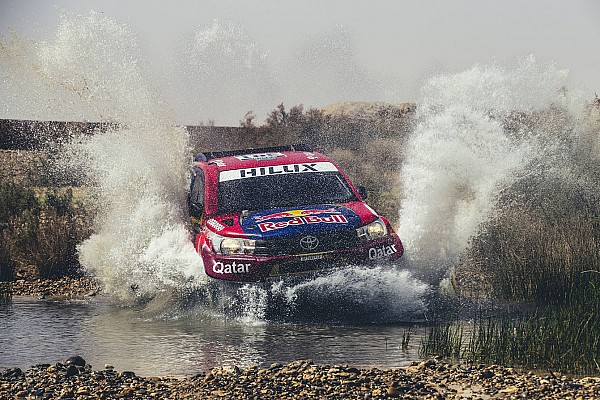 Dakar 2017: Toyota-Fahrer Nasser Al-Attiyah geht in Führung