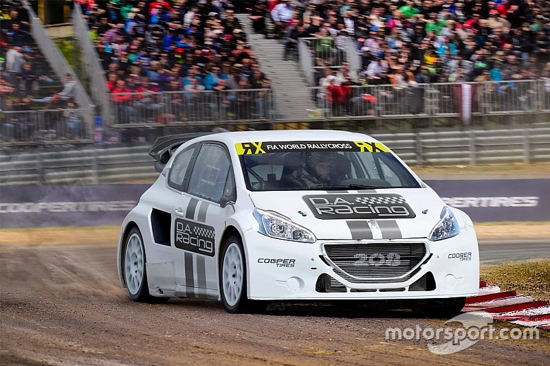 Le DA Racing arrive en World RX avec deux 208