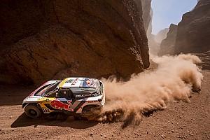 Dakar Entrevista Loeb y Peterhansel sufrieron al seguir las huellas de las motos