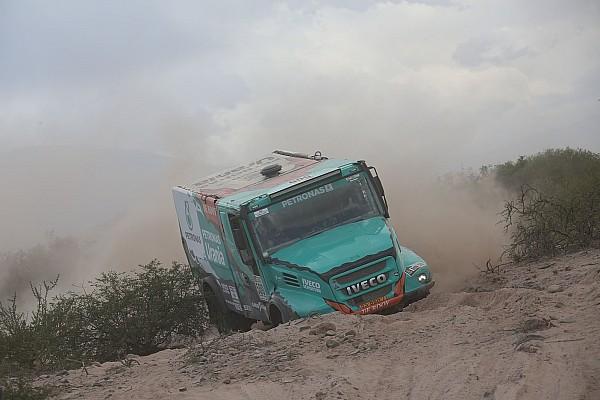 Dakar 2017, 4 .Etap: De Rooy etabı kazandı, Sotnikov lider