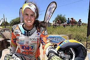 Dakar Noticias de última hora Laia Sanz, indignada con un piloto que le engañó con un WP