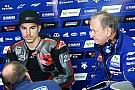 "Forcada: ""Viñales va a tener el mismo trato que Rossi en Yamaha"""