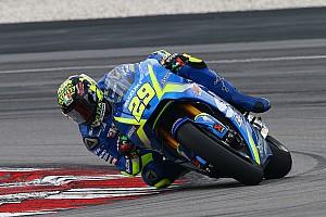 MotoGP Репортаж з тестів У другий день тестів найшвидшим став Янноне