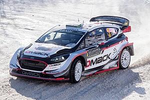WRC Ultime notizie Il team DMACK porterà al debutto in Svezia le nuove gomme chiodate