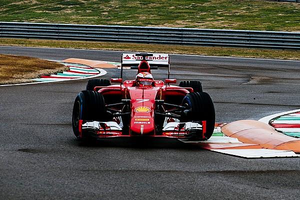 Fotogallery: Raikkonen e Giovinazzi sono tornati in pista a Fiorano