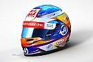 Romain Grosjean toont helm voor F1-seizoen 2017