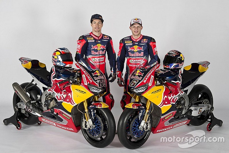 Hayden & Bradl in Superbike-WM 2017: Das Red Bull Honda Team