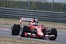 Teste de Vettel com pneus de chuva termina em acidente