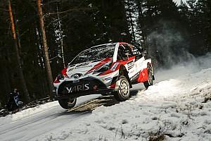WRC Prüfungsbericht WRC: Toyota-Fahrer Latvala beim Auftakt der Rallye Schweden vorn