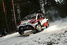 WRC: Toyota-Fahrer Latvala beim Auftakt der Rallye Schweden vorn