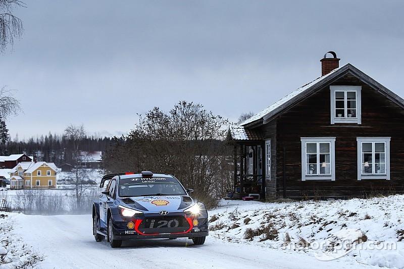 WRC Zweden: Sterke Neuville bouwt solide voorsprong op