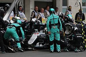 F1 Noticias de última hora Vídeo: Así son los pit stop con los nuevos neumáticos de F1