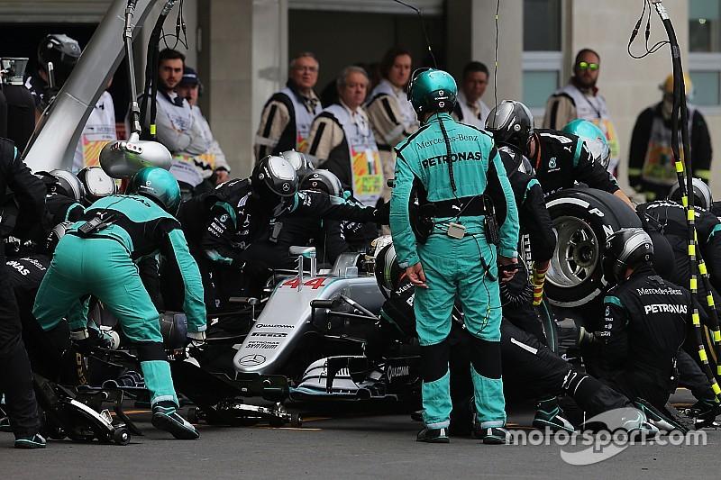 Vídeo: Así son los pit stop con los nuevos neumáticos de F1