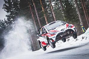 WRC Etappenbericht WRC in Schweden: Latvala und Toyota auf dem Weg zum Sieg