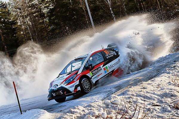 WRC Etappenbericht WRC in Schweden: 1. Toyota-Sieg in der Rallye-WM seit 1999