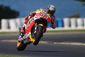 MotoGP Laporan tes Tes Phillip Island: Marquez memimpin, Rossi gusur Vinales