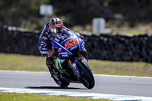MotoGP Breaking news Soal race pace, Vinales ingin samai Marquez