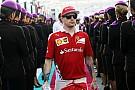 Räikkönen üléspróbán a 2017-es Ferrariban