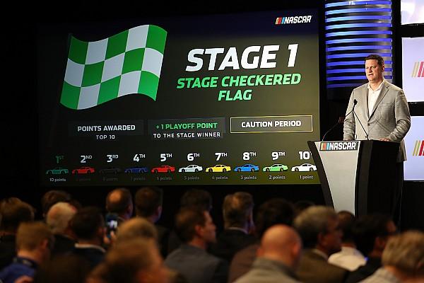 NASCAR Cup Noticias de última hora NASCAR revela el formato de etapas de carrera