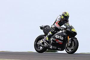 MotoGP Réactions Espargaró agréablement surpris par la stabilité de l'Aprilia