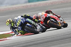 """MotoGP Entrevista Rossi: """"Lorenzo es más transparente que Márquez, menos falso"""""""