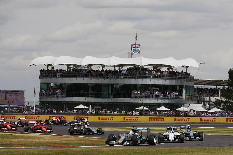 2016年F1英国收视率跌至12年来新低