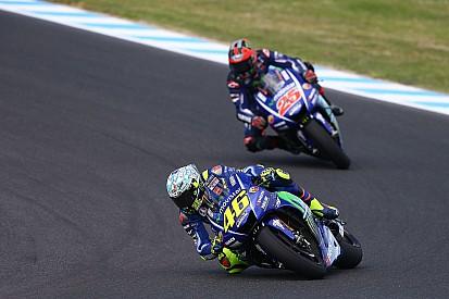 MotoGP La colonna di Mamola: il freddo inverno di Valentino Rossi