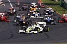 Il y a huit ans: le doublé Brawn GP à Melbourne!